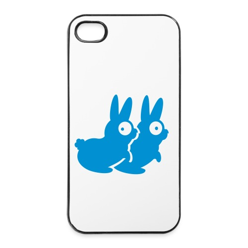 Blue Bunny IPHONE case - iPhone 4/4s Hard Case