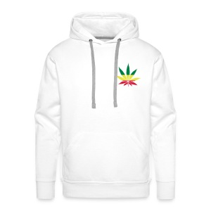 Sweat Rasta Weed - Sweat-shirt à capuche Premium pour hommes
