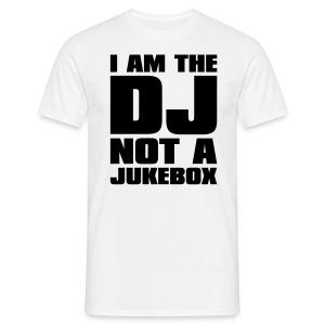 Jestem DJ'em, nie szafą grającą - Koszulka męska