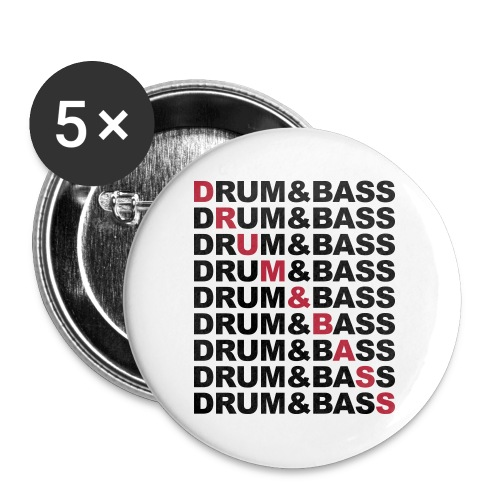 BEATEQ PIN #01 - Buttons large 2.2''/56 mm(5-pack)