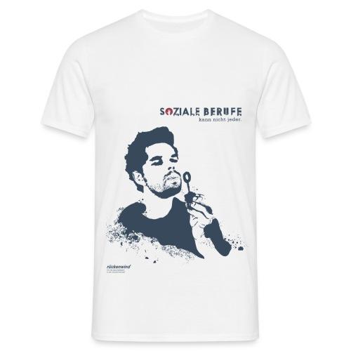 SOZIALE BERUFE kann nicht jeder (ohne Slogan) - Männer T-Shirt