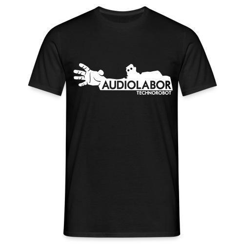 Audiolabor Techno Robot Mens Shirt - Men's T-Shirt