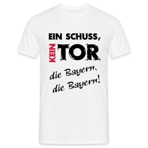 ein Schuss, KEIN Tor... - Männer T-Shirt