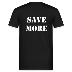 WORK LESS - SAVE MORE - T-shirt Homme