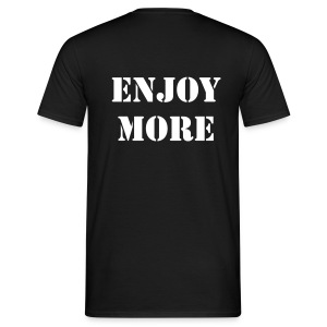 USE LESS - ENJOY MORE - T-shirt Homme