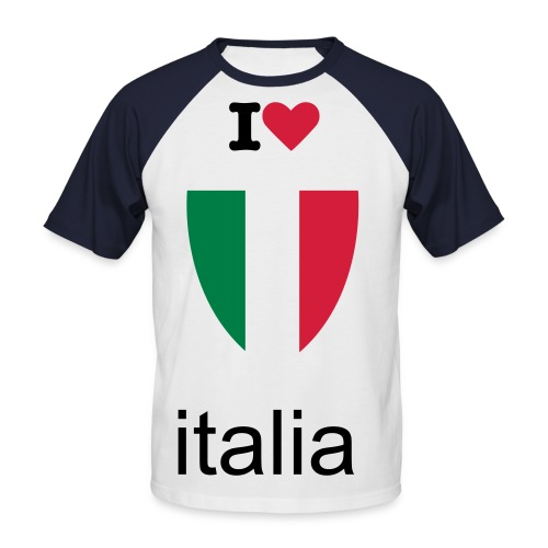 italia for éver  - T-shirt baseball manches courtes Homme