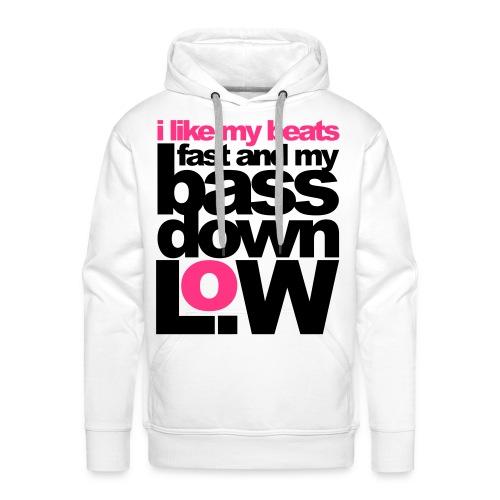 I LIKE MY BEATS - Mannen Premium hoodie