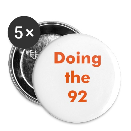 Doing the 92 badge - Buttons small 1''/25 mm (5-pack)