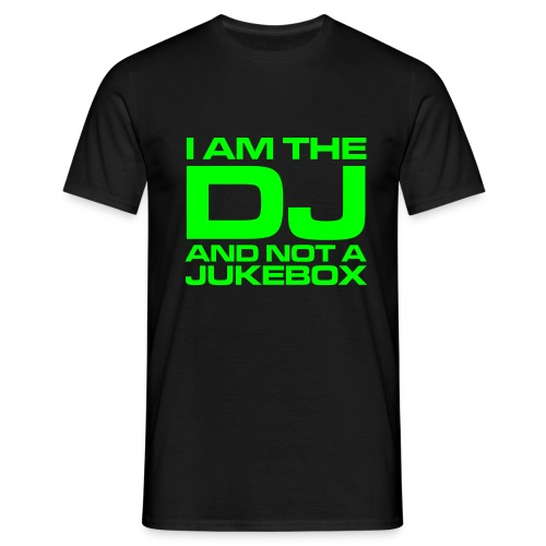 I AM THE DJ - Mannen T-shirt