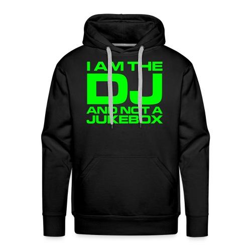 I AM THE DJ - Mannen Premium hoodie