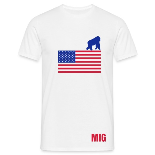 T shirt US MIG - T-shirt Homme