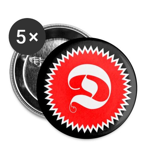 Discoschlägerei - Buttons klein 25 mm