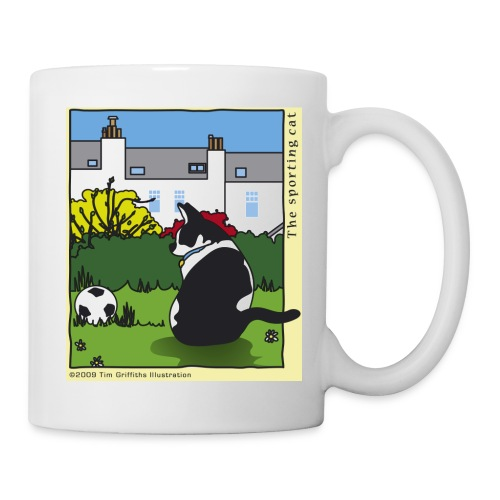 The sporting cat - Mug
