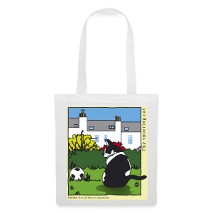 The sporting cat - Tote Bag