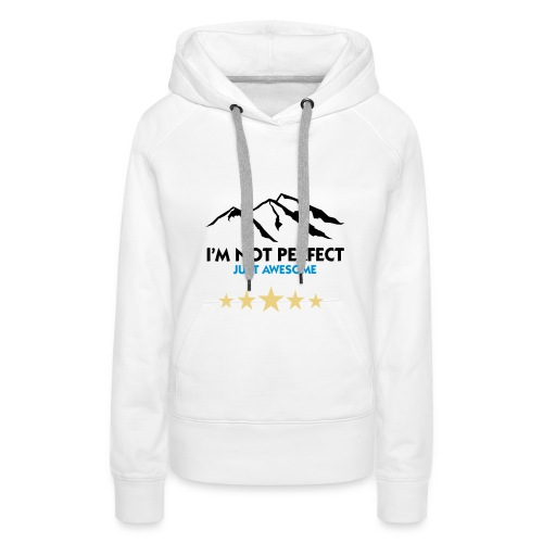 Just Awesome Wowen - Women's Premium Hoodie