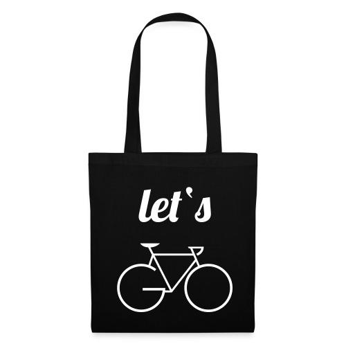 Stofftasche: Let's GO - Stoffbeutel