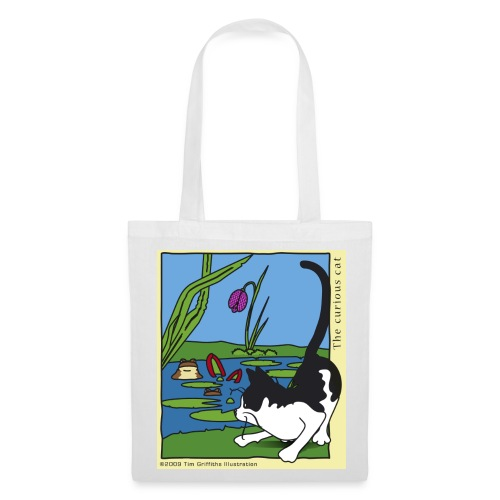 The curious cat - Tote Bag