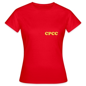 CPCC Front and Back - Ladies - Women's T-Shirt