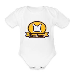 BedMan - Baby Bio-Kurzarm-Body