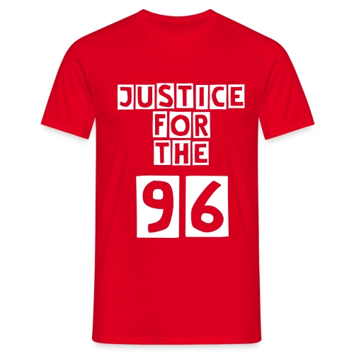 JUSTICE! - T-shirt herr