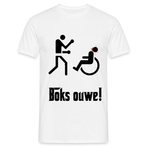 BOKS OUWE T-SHIRT - Mannen T-shirt