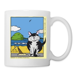 The seaside cat - Mug