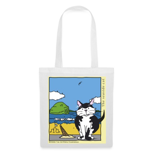 The seaside cat - Tote Bag