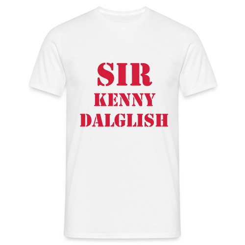 Sir Dalglish - T-shirt herr