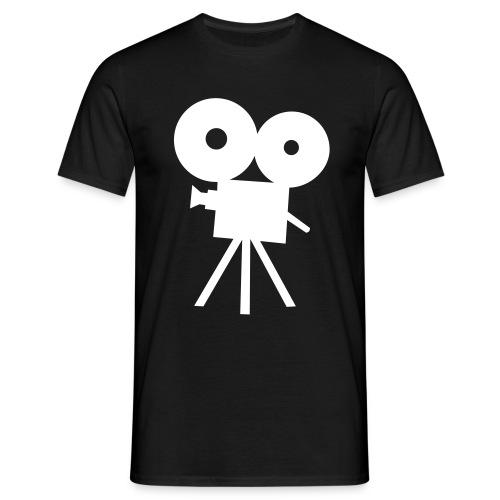 Mannen T-shirt - Voor een echte cameraman/vrouw!