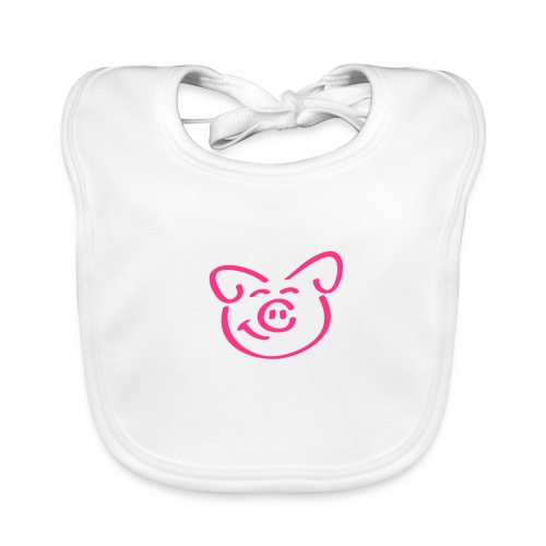 little piggy  - Baby Organic Bib