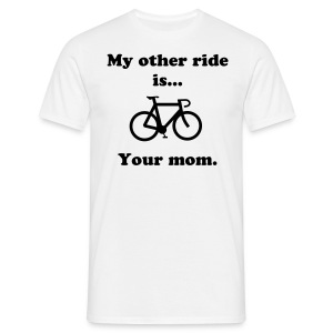 Bicycles..  - Men's T-Shirt