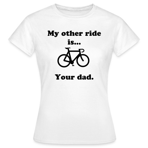 Bicycles..  - Women's T-Shirt