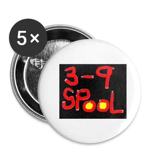 3-9 Button - Mellanstora knappar 32 mm