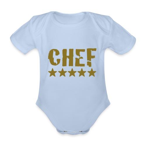 Chef - Body bébé bio manches courtes