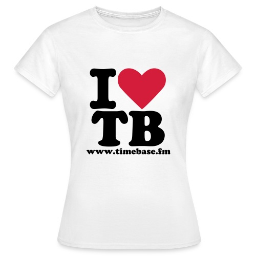 I Love TB - Frauen T-Shirt