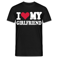 T-shirts ~ Herre-T-shirt ~ I love my girlfriend
