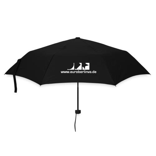 Regenschirm (kompakt) in schwarz - Regenschirm (klein)