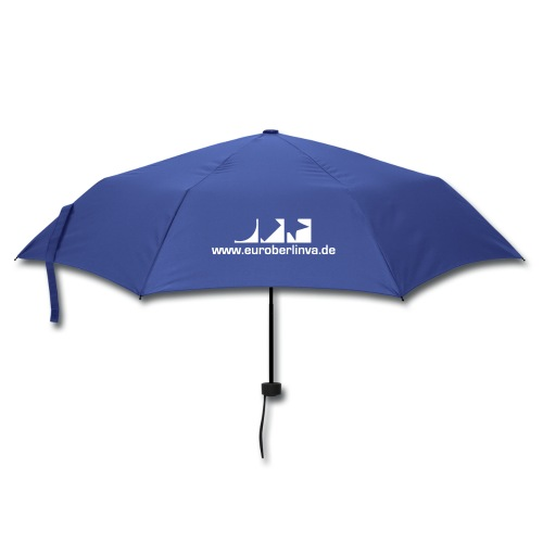 Regenschirm (kompakt) in blau - Regenschirm (klein)