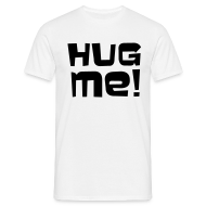T-shirts ~ Herre-T-shirt ~ Kram mig