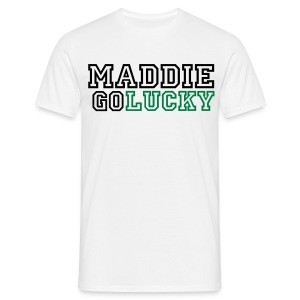 MaddieGoLucky Shirt - (Men's - White) - Men's T-Shirt