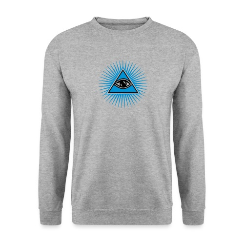 All seeing eye - eye of god / pyramid - symbol of Omniscience & Supreme Being Trui. - Mannen sweater
