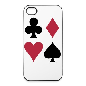 Cards iPhone Case - iPhone 4/4s Hard Case