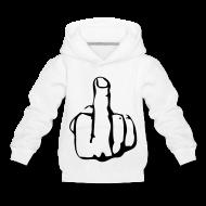 Sweatshirts ~ Premium hættetrøje til børn ~ Fu*k dig trøjen
