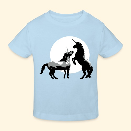 Baby T-shirt - Einhörner - Kinder Bio-T-Shirt