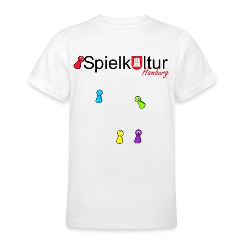Teenager T-Shirt mit Logo und Pöppeln - Teenager T-Shirt