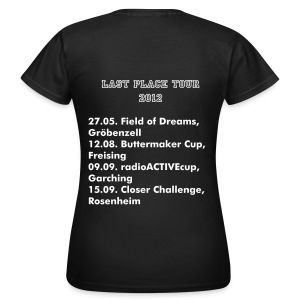 Last Place Tour 2012 (Frauen) - Frauen T-Shirt