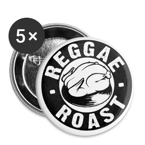 Reggae Roast Logo badge - Buttons small 25 mm