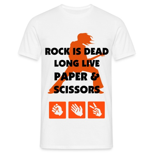 Rock Is Dead - Men's T-Shirt