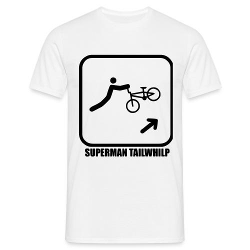 Superman Tailwhilp - Männer T-Shirt