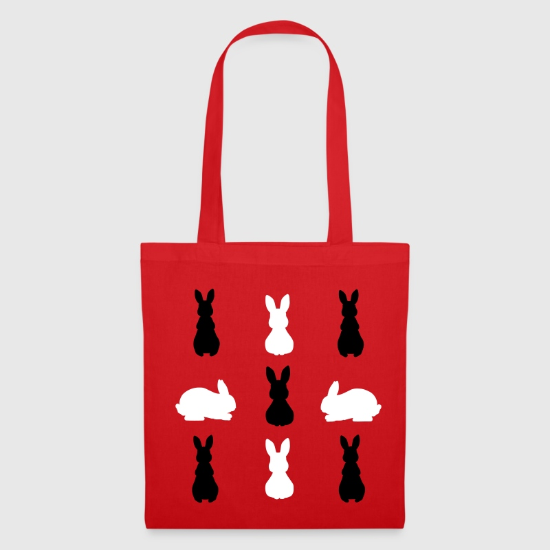 9 Lapin ombre Sacs - Tote Bag